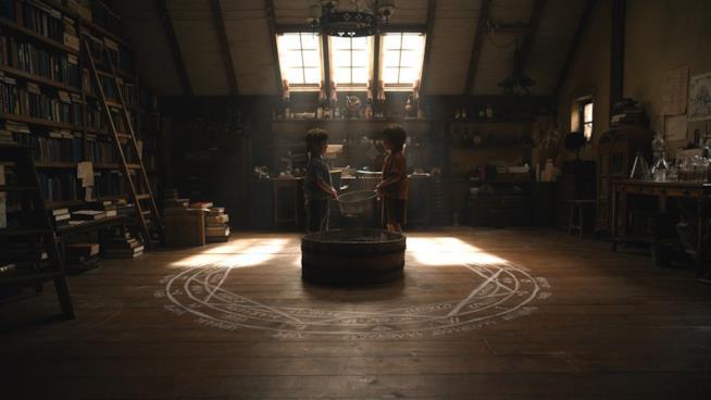 Ed e Al Elric si preparano a un patto alchemico