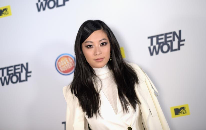 Arden Cho in una convention di Teen Wolf
