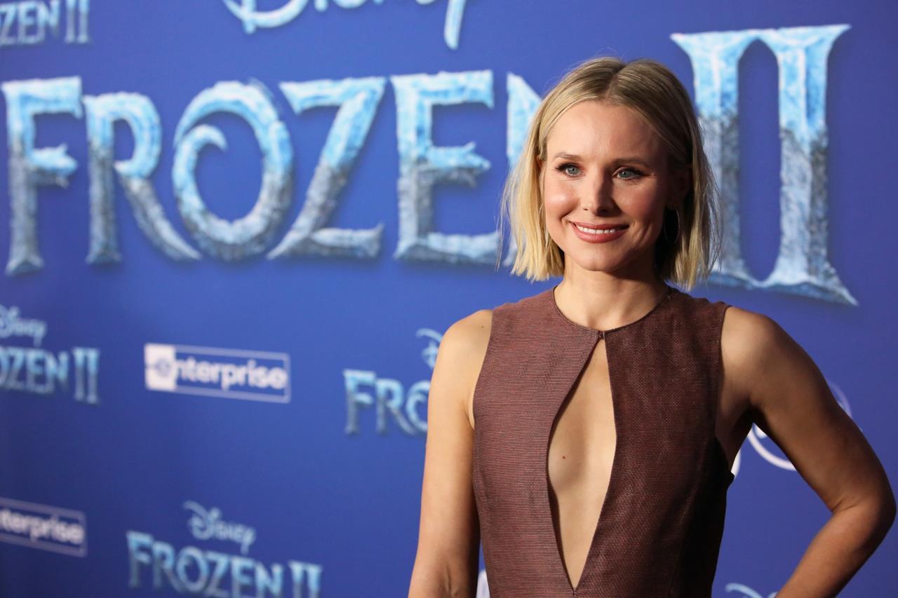 Il sorriso di Kristen Bell alla prima di Frozen II