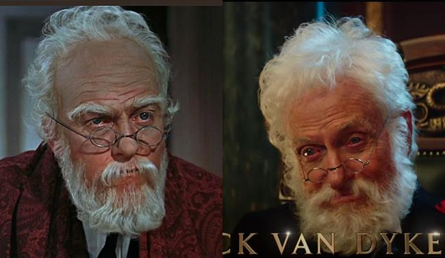 Dick Van Dyke ieri e oggi