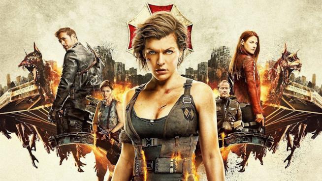 Milla Jovovich e i protagonisti di Resident Evil sul grande schermo