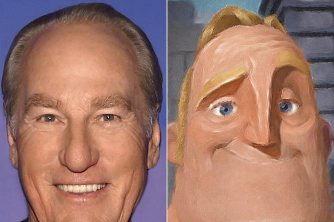 Craig T. Nelson è la voce di Robert Parr alias Mr. Incredible