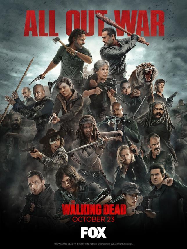 The Walking Dead: stagione 8. Il nuovo poster