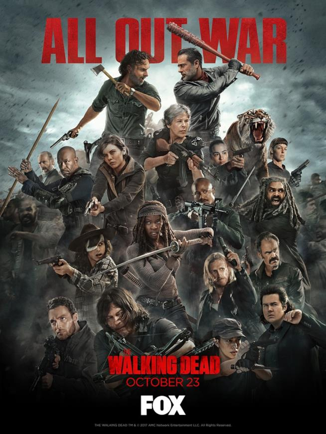 The Walking Dead 8: il poster