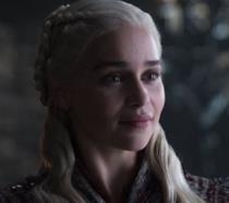 Un'immagine di Daenerys nel secondo episodio dell'ottava stagione di Game of Thrones