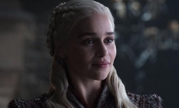 Emilia Clarke nei panni di Daenerys