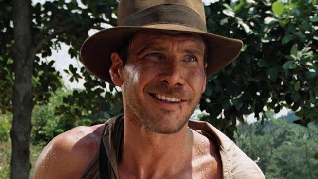 L'attore Harrison Ford