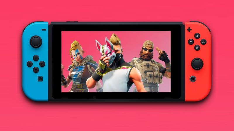 Un'immagine di Fortnite su Nintendo Switch