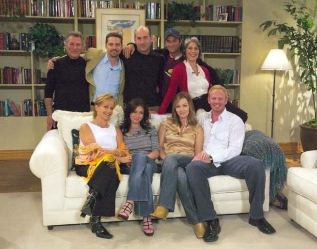Il cast al competo per la reunion del 2003