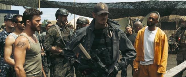 Rick Flag, tenente GQ e Deadshot in Suicide Squad