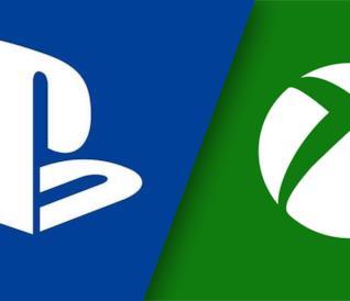 I loghi di PlayStation (sinistra) e Xbox (destra)