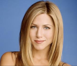 Un primo piano di Jennifer Aniston ai tempi di Friends