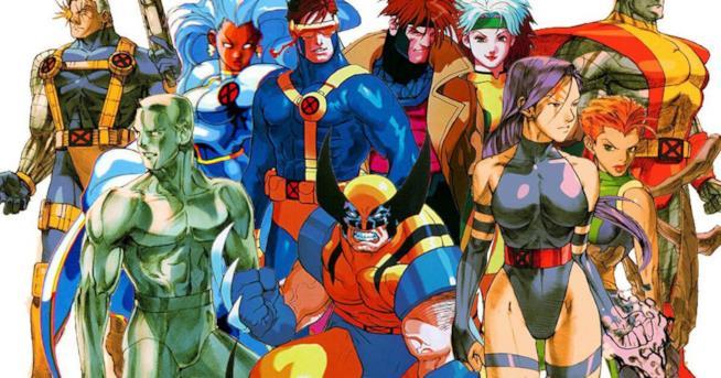 Un'immagine degli attori nei panni degli X-Men