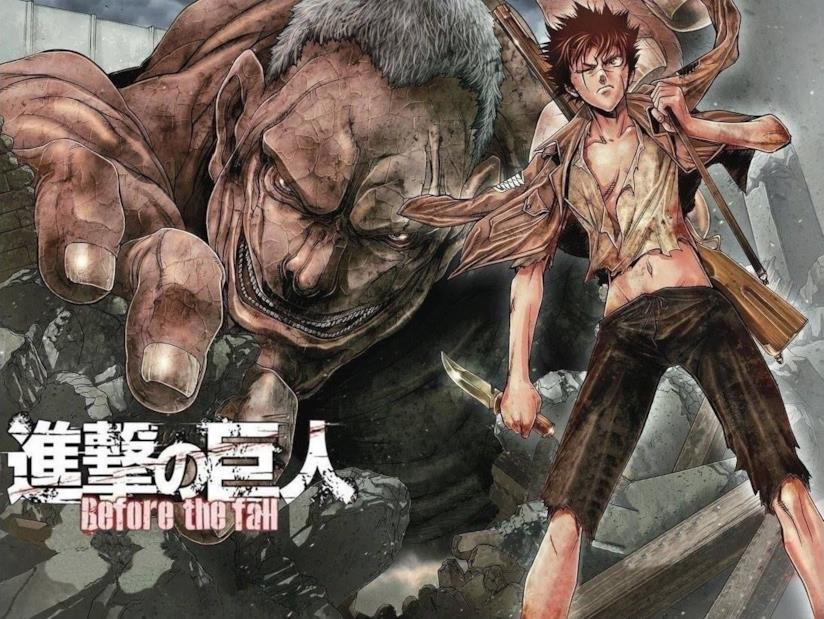 Attack on Titan Before the Fall protagonista