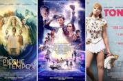 I poster dei film Nelle pieghe del tempo, Ready Player One e Tonya