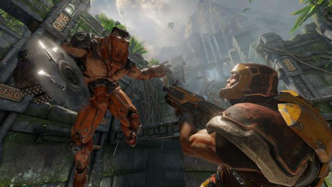 Uno scontro brutale tra due Campioni in Quake Champions
