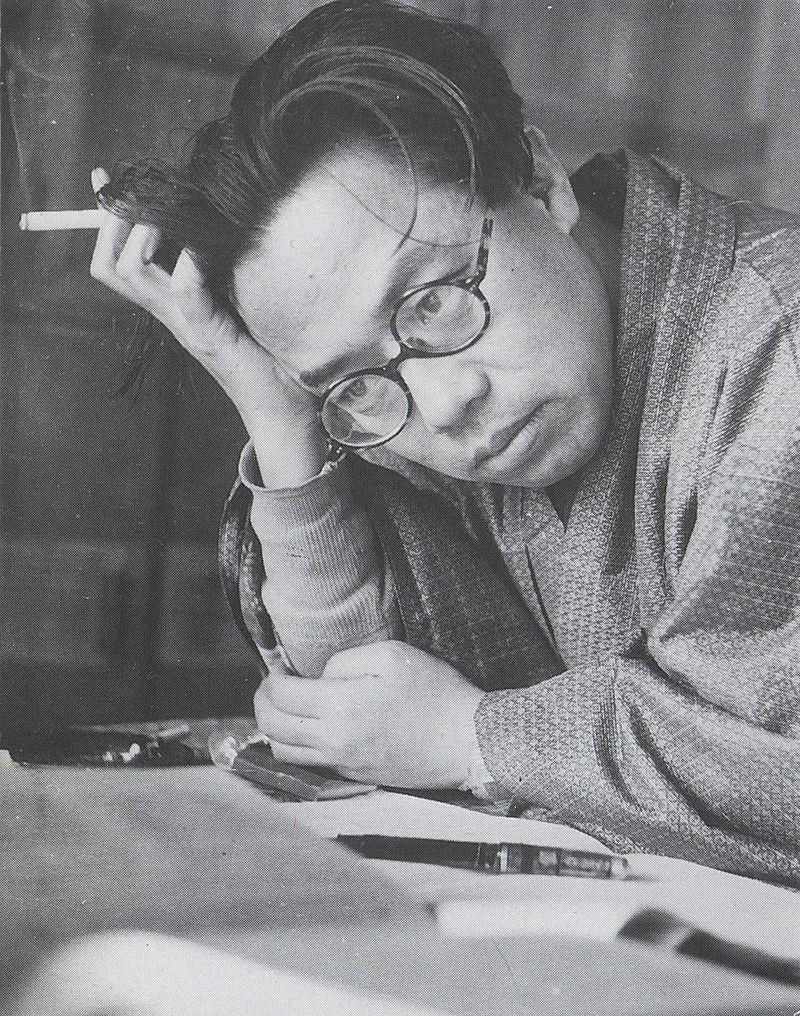 Lo scrittore Seichō Matsumoto
