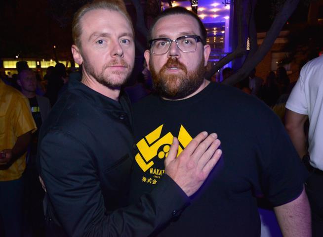 Simon Pegg e Nick Frost interpreteranno Slaughterhouse Rulez