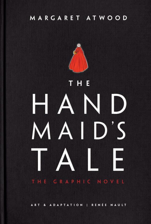 Copertina del graphic novel The Handmaid's Tale
