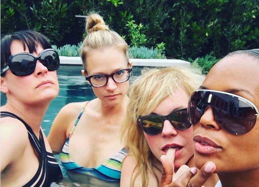 Emily Prentiss, JJ, Penelope Garcia e Tara Lewis di Criminal Minds
