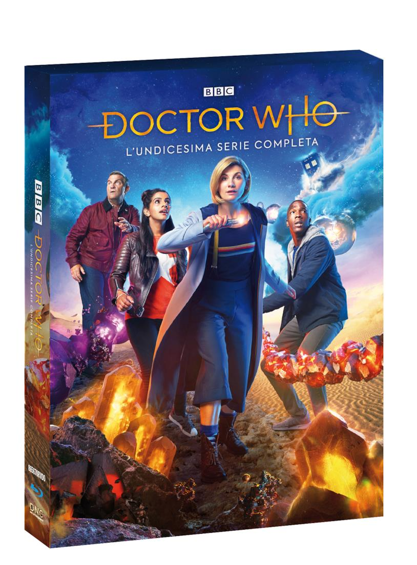 La stagione 11 di Doctor Who in Blu-ray