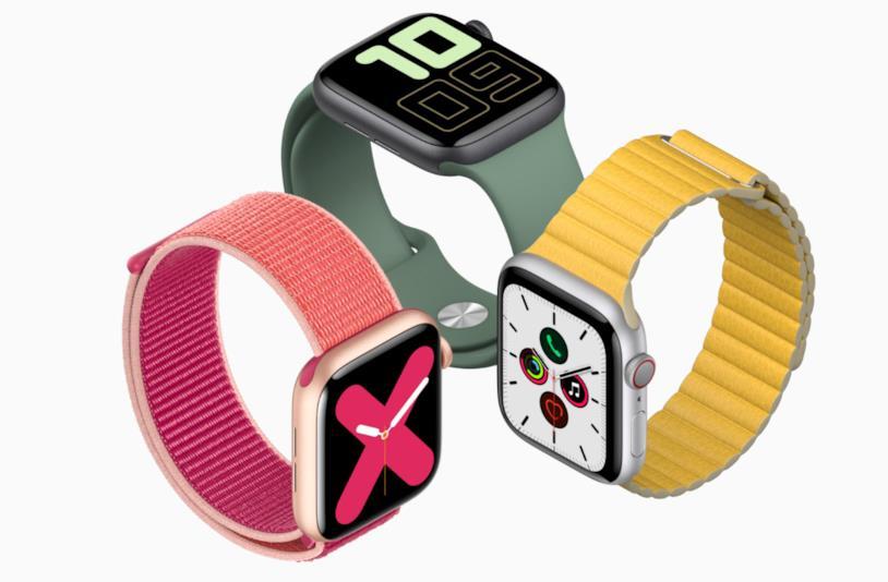 Immagine promozionale di Apple Watch Series 5