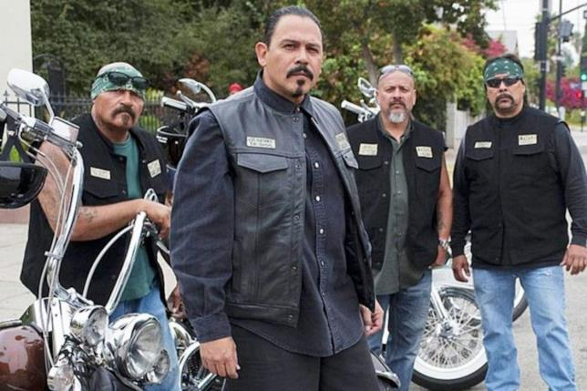 scena di Sons of Anarchy