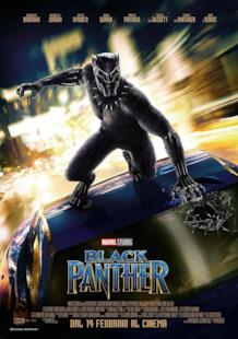 La locandina di Black Panther