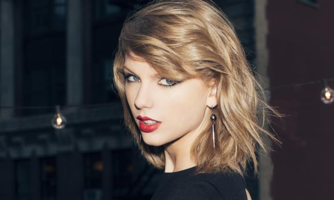 Primo piano di Taylor Swift