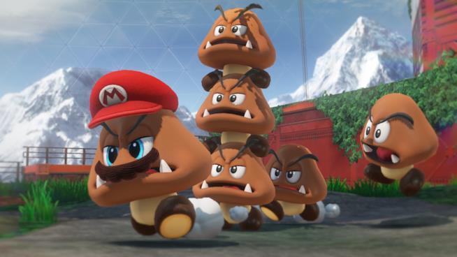 I celebri funghetti di Super Mario