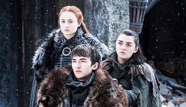 La famiglia Stark in Game of Thrones 7