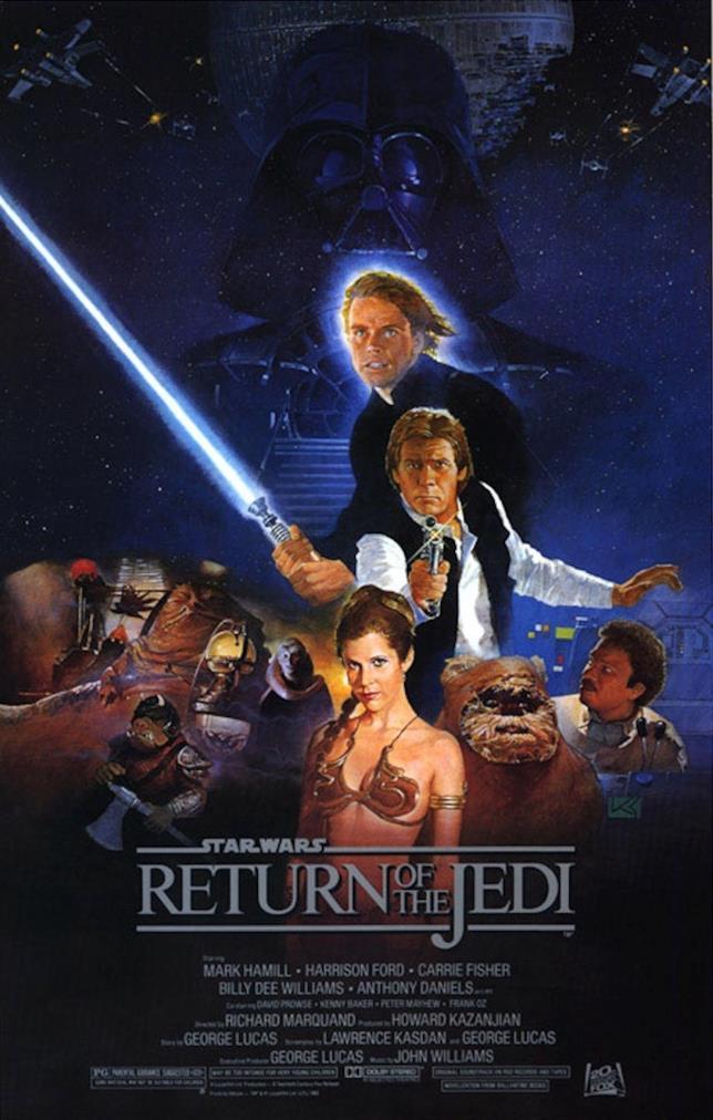 Poster de Il ritorno dello Jedi