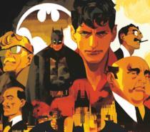 Batman e Dylan Dog Crossover cover