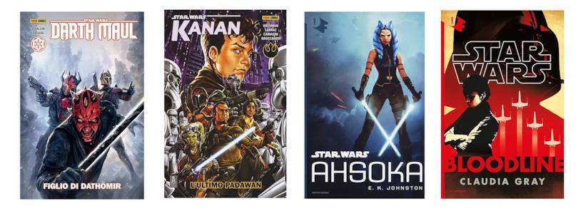 Fumetti e romanzi per conoscere i Mandaloriani