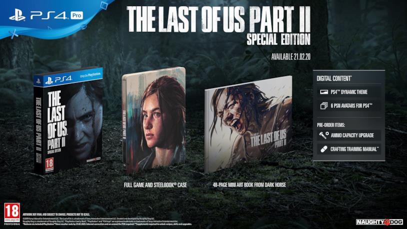 La Special Edition di The Last of Us 2