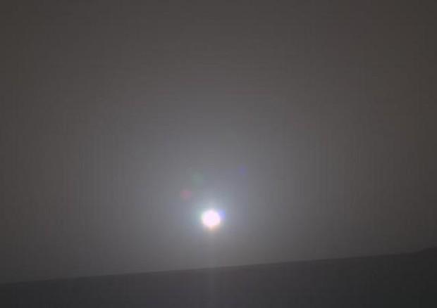 L'alba su Marte