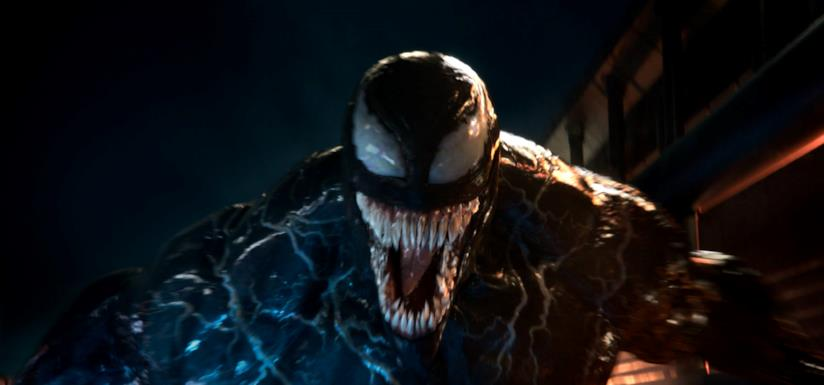 Venom nell'omonimo film Sony Pictures Entertainment