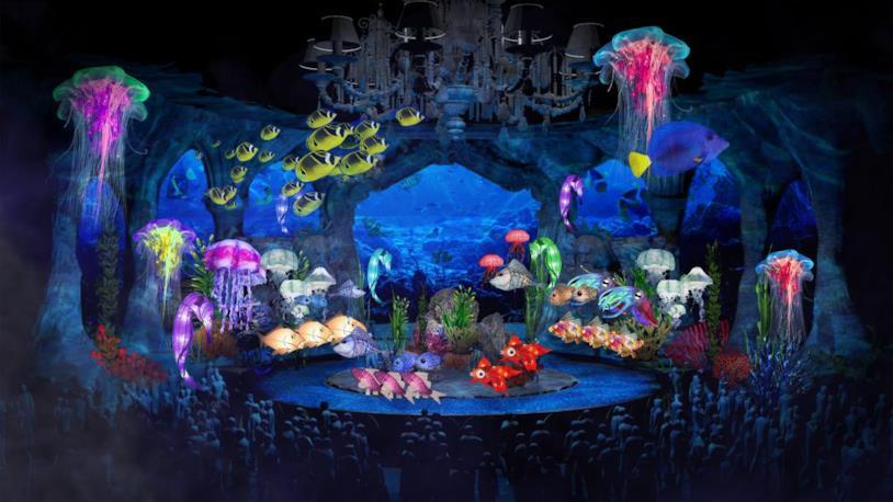 Un'immagine inedita del nuovo musical de La Sirenetta