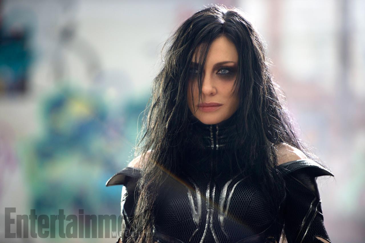 Cate Blanchett nei panni di Hela in Thor: Ragnarok