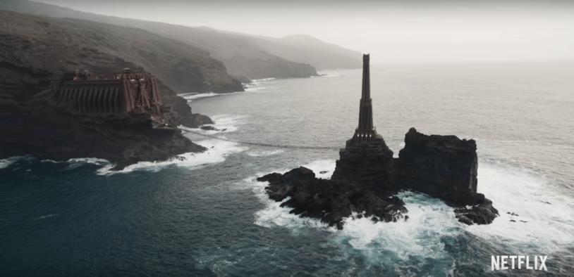 Isola dei maghi di The Witcher sulla serie tv di netflix