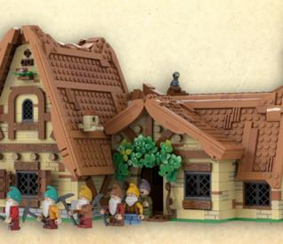 Casa di Biancaneve e i sette anni LEGO