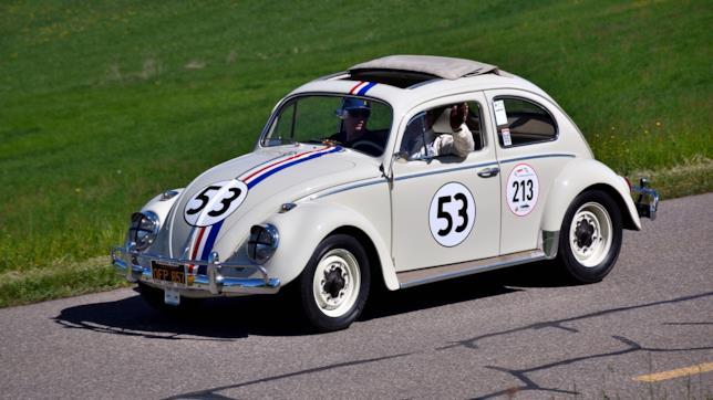 Il maggiolino celebre di nome Herbie