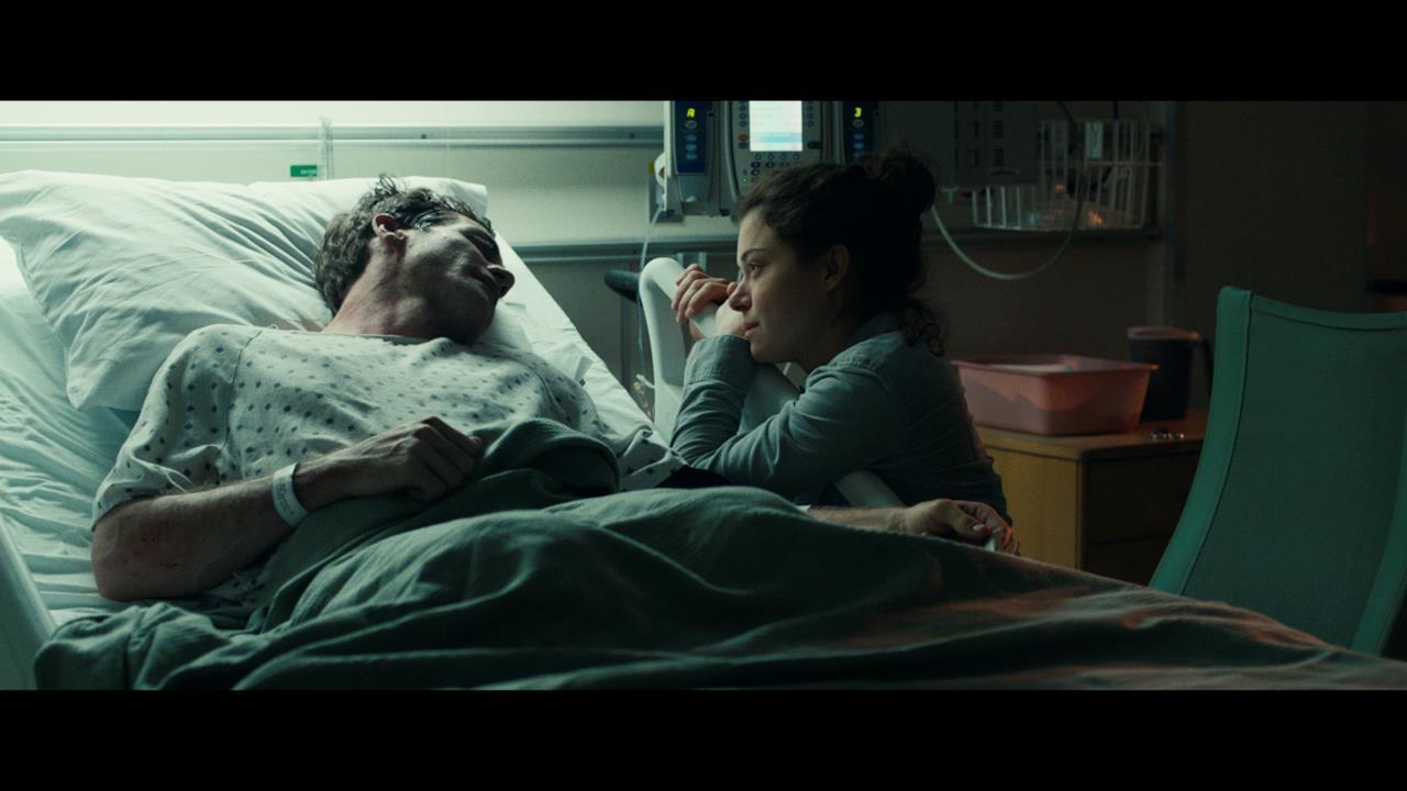Sul letto d'ospedale