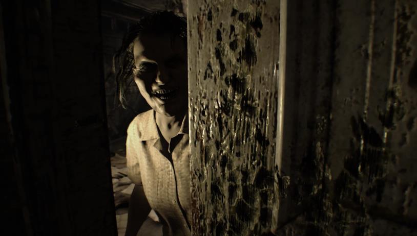 Uno screenshot di gioco da Resident Evil 7