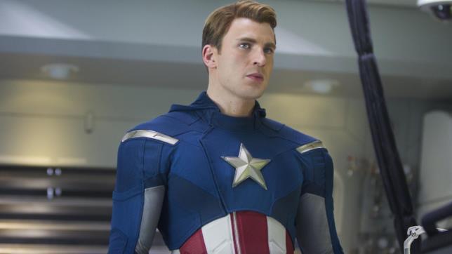 Steve Rogers nel primo The Avengers