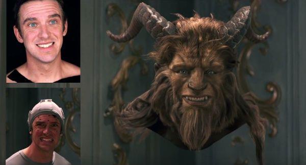 Dan Stevens e la CGI per la Bestia
