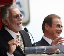 David Hedison e Roger Moore