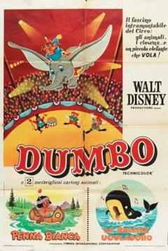 Poster italiano orginale di Dumbo
