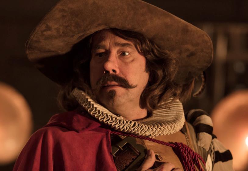 L'attore Olivier Gourmet in una scena del film Cyrano mon amour