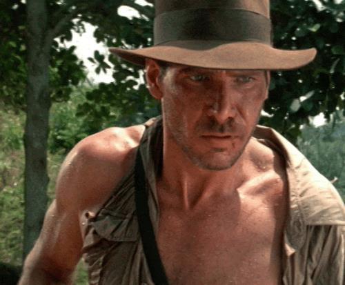 Una GIF del primo Indiana Jones